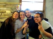 Léa, Morgane, Julien, et moi
