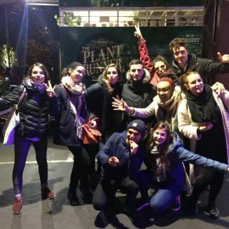 De gauche à droite: Pauline, Rachel, Jenny, Charlie, Audrey, Franck, moi, Elisa, Benoît et Astrid
